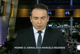 VEJA VÍDEO: Jornalistas se emocionam ao noticiar a morte de Marcelo Rezende