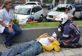 """Agentes da Semob ficam feridos durante evento do """"Dia Sem Meu Carro"""""""