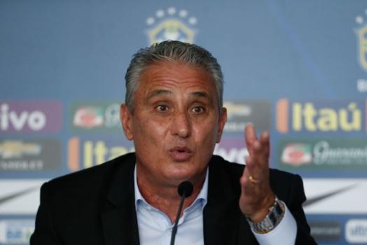 tite coletiva - Seleção tem novidades para o jogo contra a Colômbia