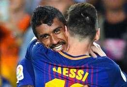 Barcelona goleia e Messi marca quatro vezes no campeonato espanhol