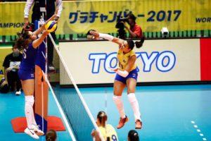 vôlei feminino 300x200 - Seleção brasileira de vôlei inicia Copa dos Campeões com vitória