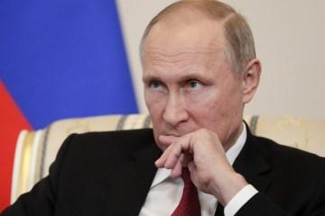 104504089 RTX38J4C vladimir putin - RELAÇÕES INTERNACIONAIS: Rússia e EUA estão no ponto mais baixo em anos, diz Putin