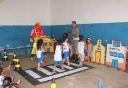 Creches de Patos participam do Projeto 'Uma Semana Transitando com Você' da 4ª CPTran