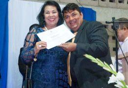 Madalena Abrantes recebe título de cidadania de Alagoa Grande