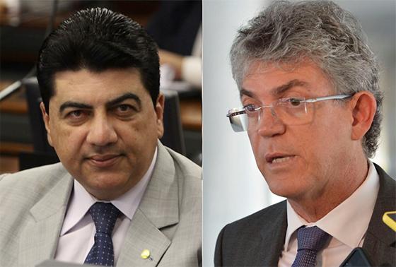 Manuel Junior e Ricardo Coutinho - TRÉPLICA: Manoel Júnior dá resposta ao governador e usa morte de Bruno Ernesto como provocação