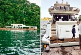 Vital do Rêgo teria passado fim de semana em ilha paradisíaca às custas da JBS