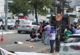 Após sofrer acidente, homem é assaltado enquanto esperava atendimento