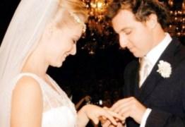 Angélica e Luciano Huck fazem bodas de linho e se declaram nas redes