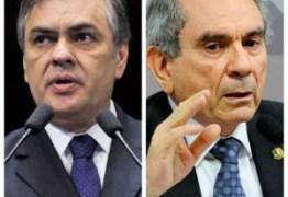 Cássio e Lira defendem votação aberta em sessão que pode confirmar afastamento de Aécio do Senado