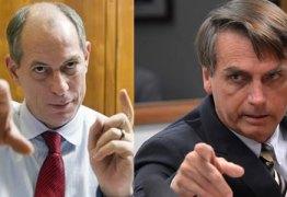 """Em entrevista, Bolsonaro diz ter 'muito em comum"""" Ciro Gomes"""