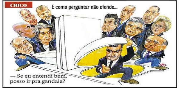 gandaia - POBRE BRASIL: MUDEM O NOME DA CORTE, POIS SUPREMO NÃO É - Por Fernando Brito