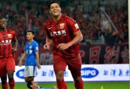 Jogando na China, paraibano Hulk é destaque no Esporte Espetacular