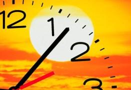 HORÁRIO DE VERÃO ADIADO: eleições foram responsáveis por mudanças no cronograma