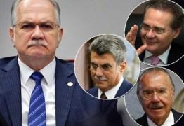 Fachin arquiva inquérito da Lava Jato contra Renan, Jucá e Sarney