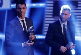 Cristiano Ronaldo e Messi não trocam votos e privilegiam amizades