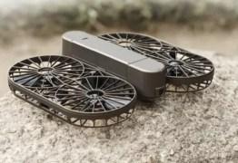 TECH: Mini drone 4k decola e pousa direto das mãos do usuário