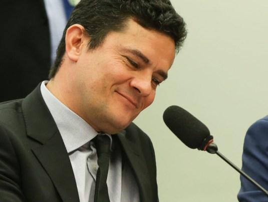 moro 1 - Sérgio Moro se diz honrado após ser citado por Bolsonaro como primeira opção para superministério