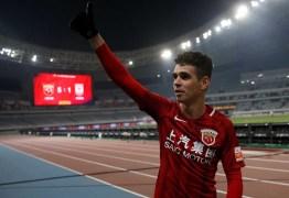 Jogador Oscar diz que preferiu China à Espanha pela família