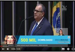 VEJA VÍDEO:Rômulo faz homenagem a Campina Grande na tribuna da Câmara e destaca importância de fábrica de aviões da cidade