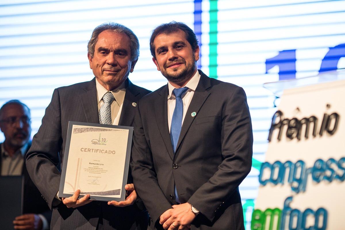 raimundo lira 1 - Raimundo Lira recebe Prêmio Congresso em Foco como um dos cinco melhores senadores do ano