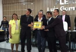 Lira recebe título de Cidadão de Conceição, por sua atuação pelo Ramal Piancó e outras ações em favor da cidade e região