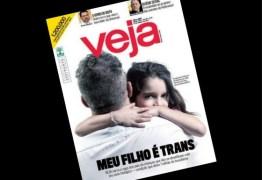 Capa da Veja sobre transgêneros vai para o trending topics do Twitter como #VejaLixo