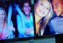 TROCA DE CASAIS: Programa da globo coloca foto errada durante reportagem sobre jogador
