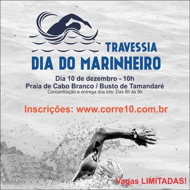 101017 TRAVESSIA CORRE10 - Inscrições abertas para a Travessia Dia do Marinheiro 2017