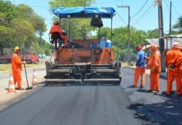 PMJP inicia recapeamento de ruas e avenidas na Penha