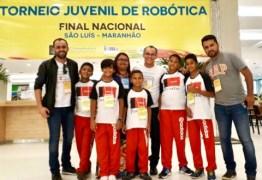 Alunos de Santa Rita conquistam torneio nacional de robótica