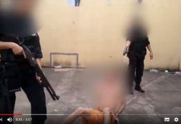 Agentes disparam armas de choque contra detentos em presídios de Goiás -VEJA VÍDEO
