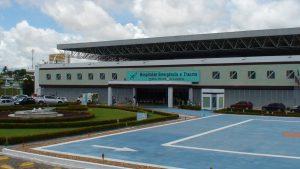 Hospital de Trauma 300x169 - Dupla armada causa pânico na capital e atira em três homens