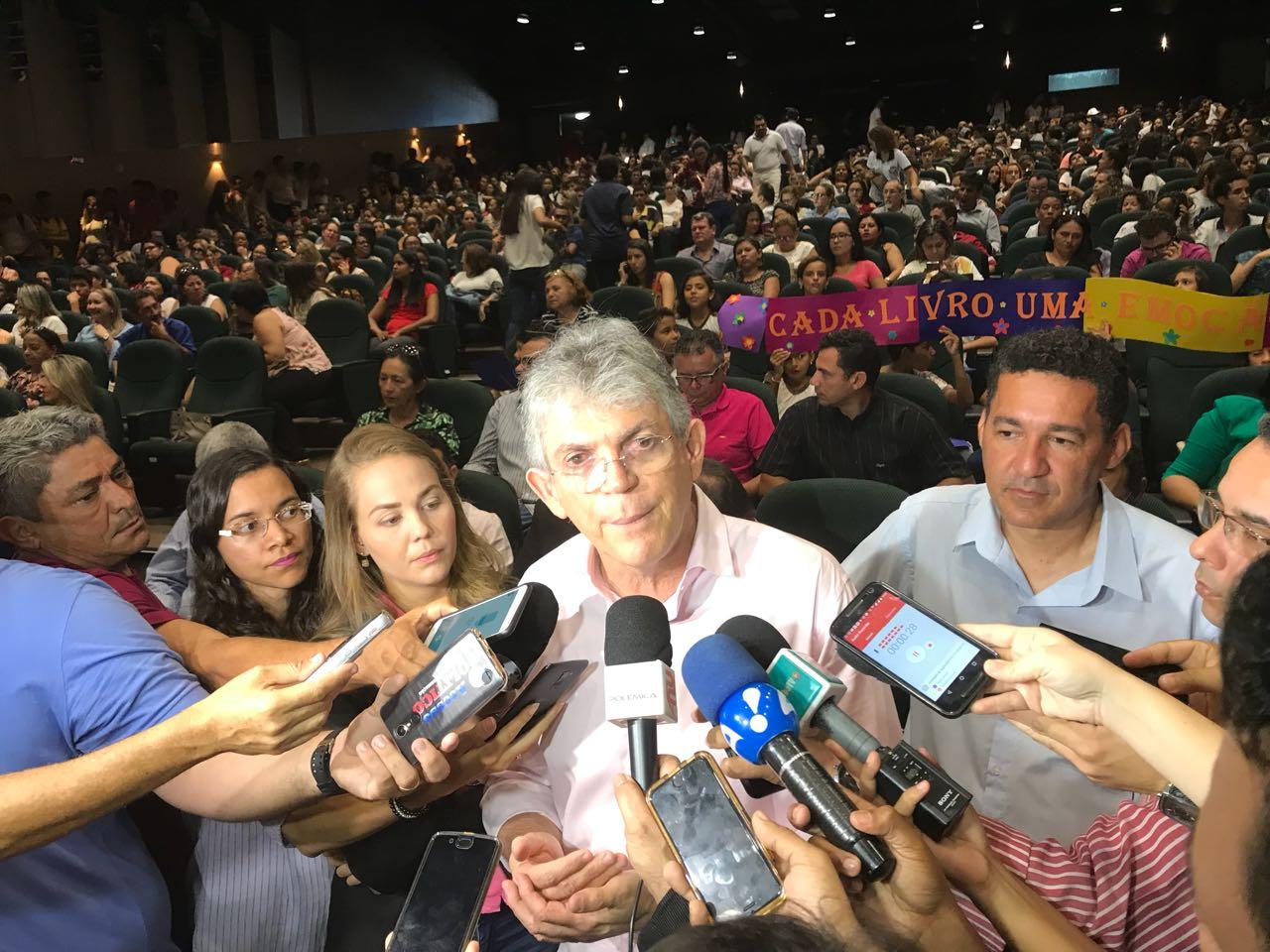 IMG 20171113 WA0009 - 'Eles continuam desconfiando uns dos outros, continuam querendo conversar comigo', Ricardo reafirma desunião da oposição