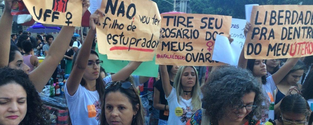 Pec do Aborto 1200x480 - PEC que criminaliza aborto até em casos de estupro revolta mulheres, que vão às ruas protestar
