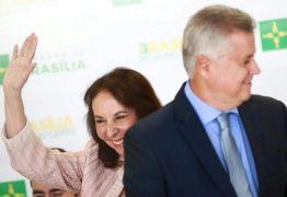 Rollemberg empossa Abadia e diz que vai ampliar espaço do PSDB no GDF