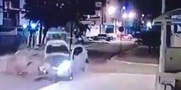 AVANÇOU O SINAL: Veja o momento de grave acidente que deixou quatro feridos em João Pessoa – VEJA VÍDEO
