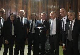 Aguinaldo Ribeiro recebe em Brasília grupo de empresários do setor de Call Center