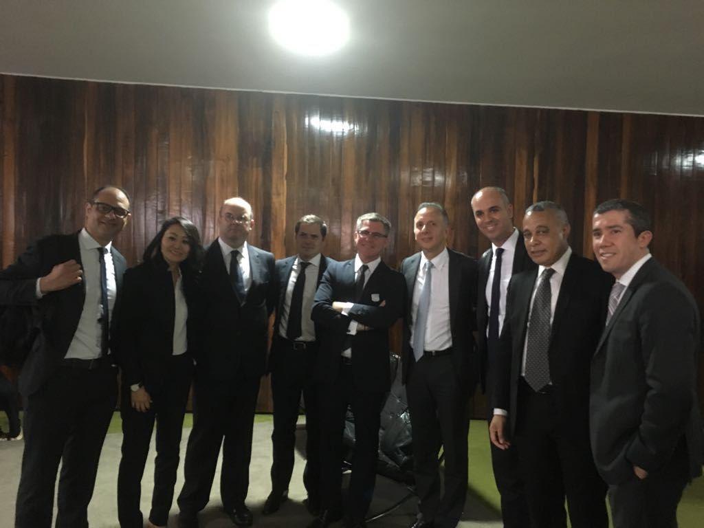 aguinaldo reunião call center - Aguinaldo Ribeiro recebe em Brasília grupo de empresários do setor de Call Center