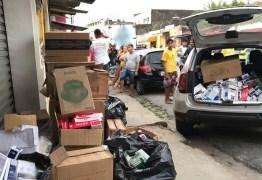 Comerciante é presa com cigarros contrabandeados em João Pessoa