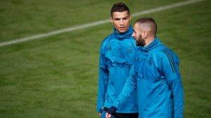 cr7 300x169 - Com dois gols no Espanhol, dupla CR7 e Benzema têm pior índice da história do Real