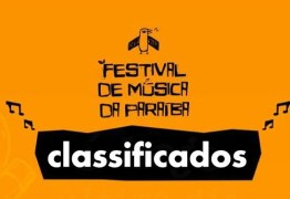 Festival de Música da Paraíba divulga lista de classificados para disputa do evento