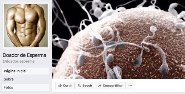 esperma - Venda e doação ilegais de esperma crescem no Brasil e Facebook é o grande mercado - Por Eduardo Reina