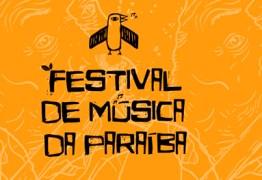 Após sorteio, Festival de Música da Paraíba anuncia ordem de apresentação em eliminatórias