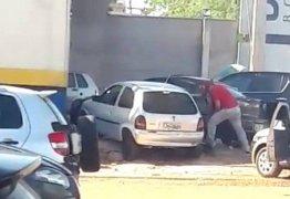 Policial dispara e fere pai que esfaqueava filha de 2 anos