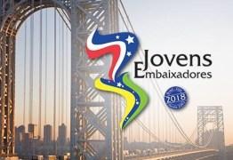 Paraibano de 16 anos é selecionado para Programa Jovens Embaixadores 2018