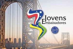 jovensembaixadores2018 300x204 - Paraibano de 16 anos é selecionado para Programa Jovens Embaixadores 2018