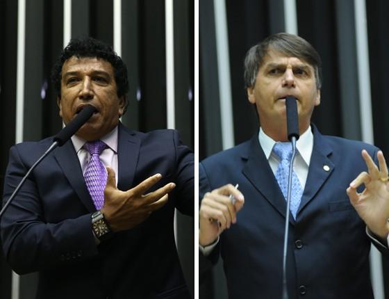 magnobolsonaro - Senador se aproxima de Bolsonaro pensando em 2018