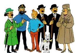 Desenho raro de Tintin é leiloado por quase 500 mil euros
