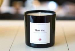 VEJA VÍDEO: Empresa lança vela com cheiro de Mac novo