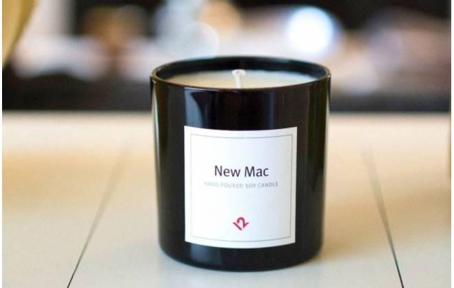 vela mac - VEJA VÍDEO: Empresa lança vela com cheiro de Mac novo